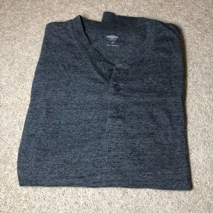 Old Navy Long-Sleeved Henley Shirt